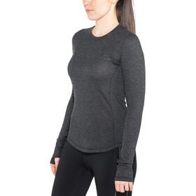 Craft Urban Run LS Wool Top Women black melange